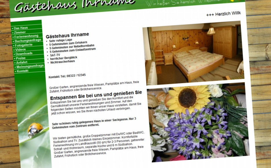 tipps zu homepage selbst erstellen. Black Bedroom Furniture Sets. Home Design Ideas